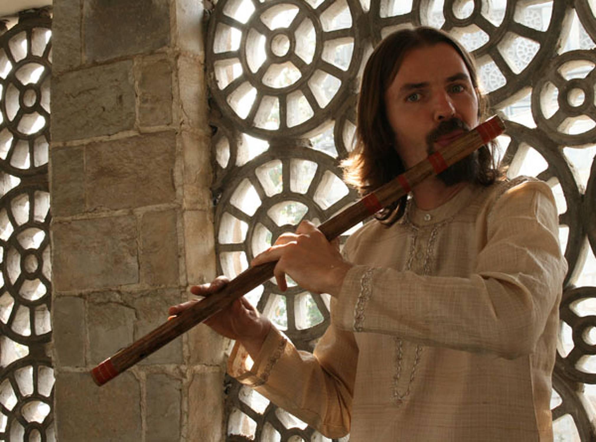 Ernest Jepifanov Violine Viola Und Bambusquerflote Kunstler
